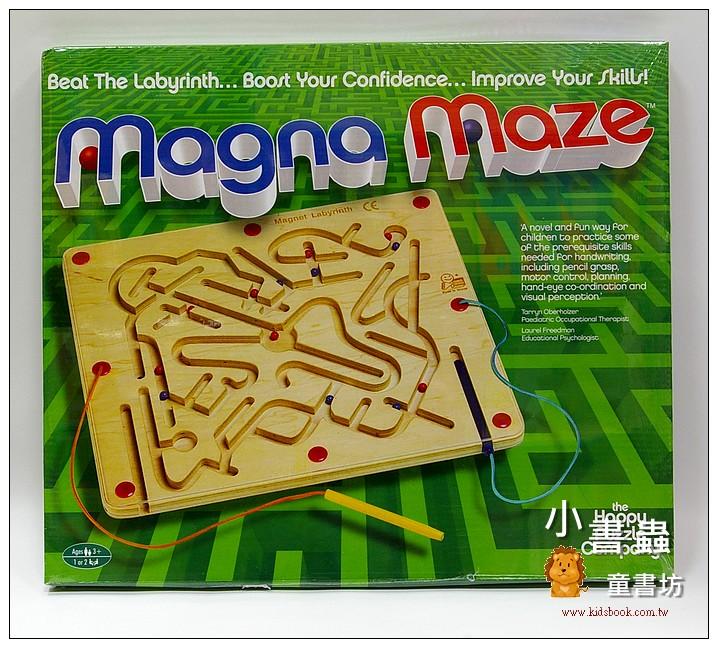 內頁放大:磁棒迷宮