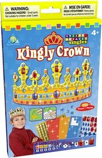 國王皇冠:馬賽克拼貼(單片)