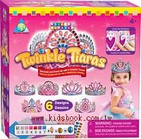 閃亮公主皇冠組 :馬賽克拼貼禮盒組