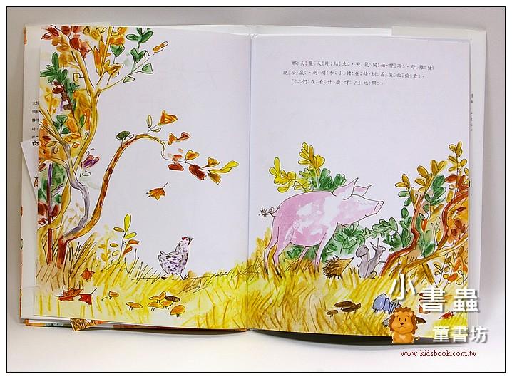 內頁放大:大棕熊的冬眠小屋(絕版書 )現貨:1