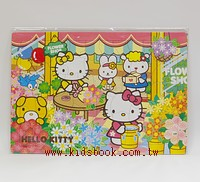 60pcs HELLO KITTY花店:日本幼兒拼圖