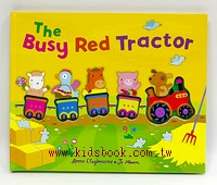 The Busy Red Tractor