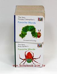 寶寶小小硬頁書2合1(好餓的毛毛蟲、好忙的蜘蛛)(85折)