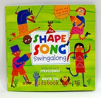 The shape song(平裝書+VCD)