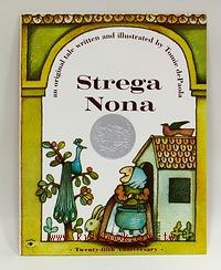 Strega Nona (平裝書+CD)巫婆奶奶