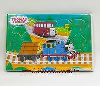 湯瑪士小火車拼圖可愛版Ⅱ(9.9.11pcs):階梯式日本幼兒拼圖