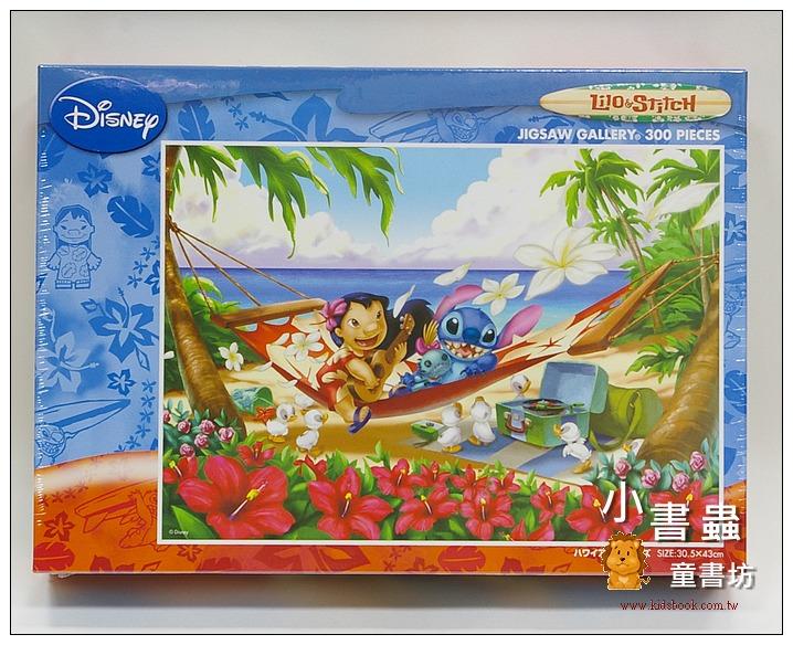 內頁放大:300pcs史迪奇的夏威夷時光:日本拼圖(特價出清)(現貨:1)