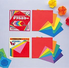 內頁放大:日本色紙:雙面不同色色紙15cm(8色調36枚)