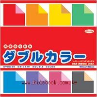 日本色紙:雙面不同色色紙15cm(8色調36枚)
