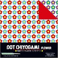 日本花紙(雙面):小花(6色調36枚)(現貨數量:1)