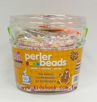 蛋糕甜點 DIY :拼拼豆豆組合桶(Perler)