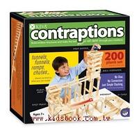 創意滾球實驗 3D建構積木(200片) KEVA Contraptions: 200 Plank
