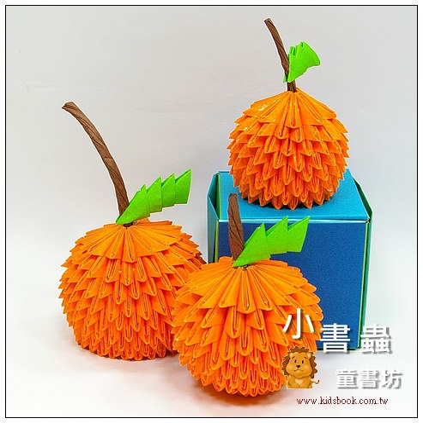 內頁放大:日本色紙─單色(黃橘)64106