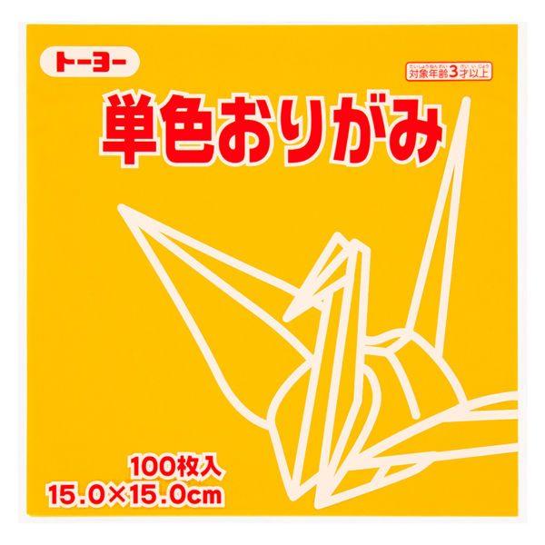 內頁放大:日本色紙─單色(金黃)64107