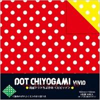 日本花紙(雙面):白點點(中)(6色調36枚)(現貨數量>5)