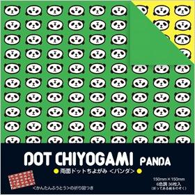 內頁放大:日本花紙(雙面):小熊貓(6色調36枚)(現貨數量>5)