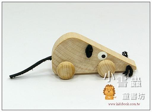 內頁放大:可愛動物迷你車:小老鼠(特價品)(現貨數量:4)
