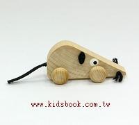 可愛動物迷你車:小老鼠(特價品)(現貨數量:4)