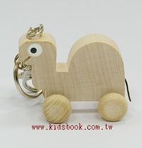 可愛動物迷你車鑰匙圈:小烏龜(特價品)(現貨數量:1)