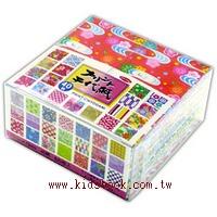 日本色紙:40柄和風千代紙(7.5cm)