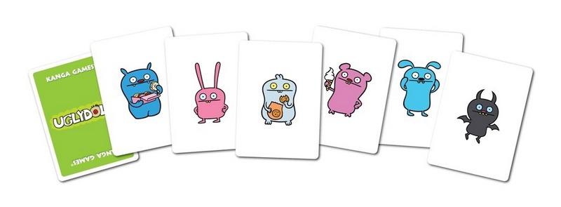 內頁放大:醜娃娃UGLYDOLL Card Game(紙牌桌遊 中階)現貨數量:1