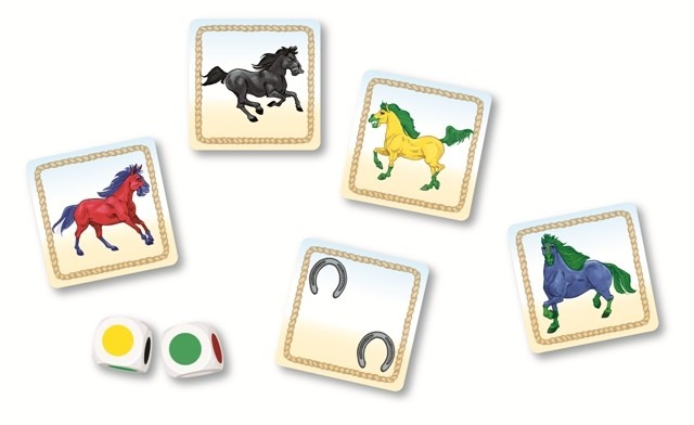 內頁放大:野馬 Wild Horses(紙牌桌遊 高階)