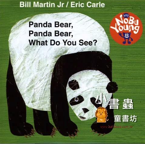 內頁放大:艾瑞.卡爾:Panda Bear, Panda Bear, What Do You See?(單CD)