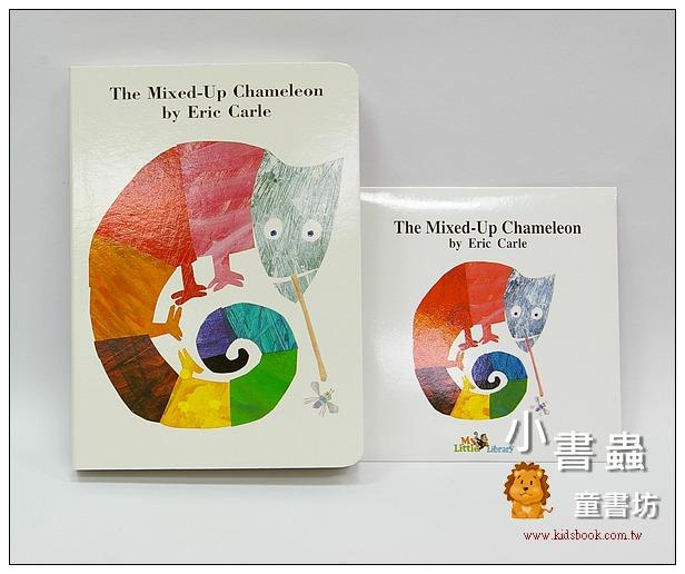 內頁放大:The Mixed-Up Chameleon(硬頁書+CD)(拼拼湊湊變色龍)(85折)