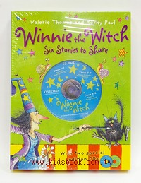 WINNIE THE WITCH #2 SIX BOOKS COLLECTION(巫婆與黑貓系列故事第二輯6書2CD)
