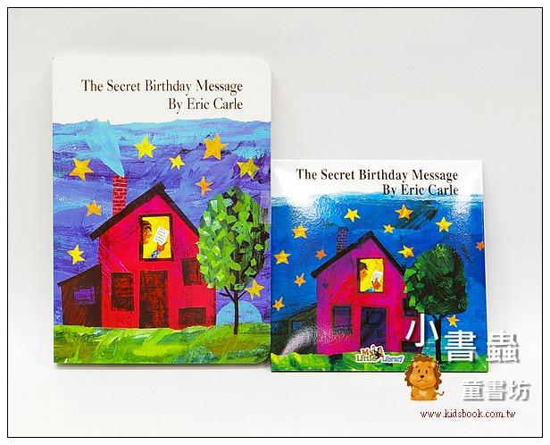 內頁放大:艾瑞.卡爾:(硬頁書+CD):The Secret Birthday Message(神秘的生日禮物)(85折)