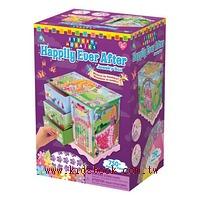 幸福童話珠寶盒:馬賽克拼貼