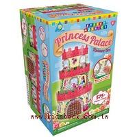 公主城堡珠寶盒:馬賽克拼貼