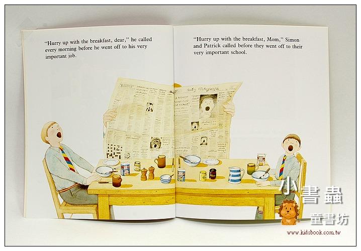 內頁放大:安東尼.布朗繪本:PIGGYBOOK(朱家故事)(平裝本)(豬事大吉)