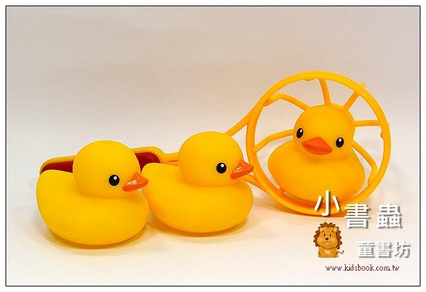 內頁放大:黃色小鴨 洗澡組 TOLO 正版授權生產(Rubber Duck)