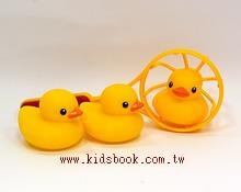 黃色小鴨 洗澡組 TOLO 正版授權生產(Rubber Duck)