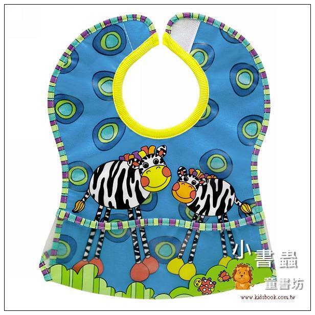 內頁放大:防水口袋圍兜 – 斑馬(85折)