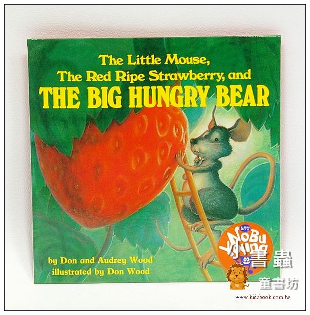 內頁放大:THE LITTLE MOUSE, THE RED RIPE STRAWBERRY,AND THE BIG HUNGRY BEAR(單CD)