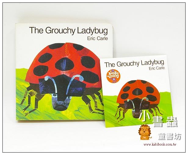 內頁放大:艾瑞.卡爾:(硬頁書+CD): The Grouchy Ladybug(愛生氣的瓢蟲)(85折)