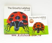 艾瑞.卡爾:(硬頁書+CD): The Grouchy Ladybug(愛生氣的瓢蟲)(85折)