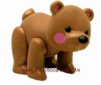 棕熊:TOLO動物公仔(現貨數量:2)絕版品