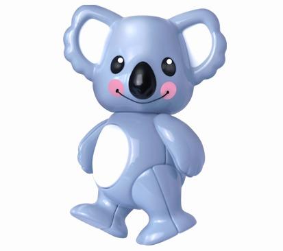 內頁放大:無尾熊:TOLO動物公仔(現貨數量:2)絕版品