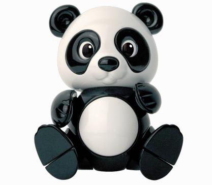內頁放大:貓熊:TOLO動物公仔(現貨數量:2)絕版品