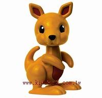 袋鼠:TOLO動物公仔(現貨數量:1)絕版品