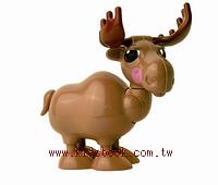 麋鹿:TOLO動物公仔(現貨數量:1)絕版品