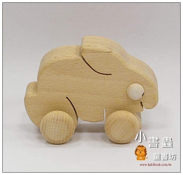內頁放大:可愛動物車─兔子