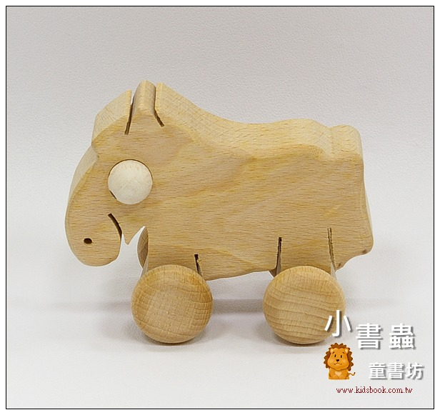 內頁放大:可愛動物車─小馬