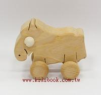 可愛動物車─小馬