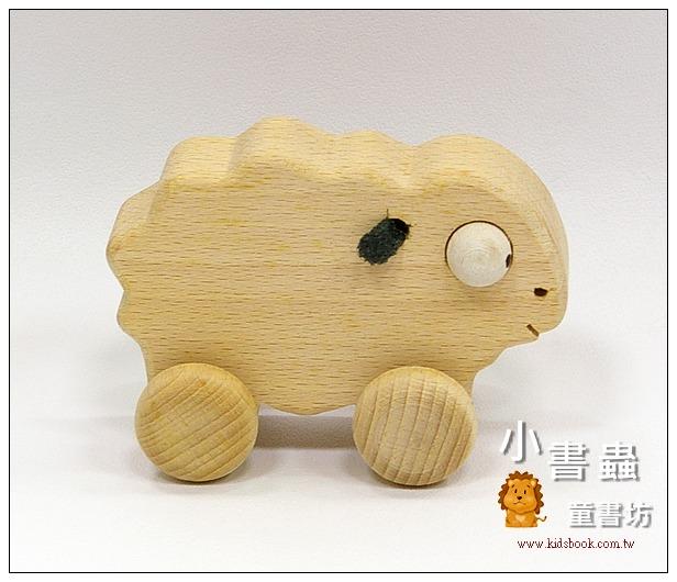 內頁放大:可愛動物車─綿羊