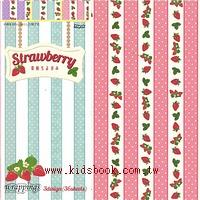 日本花紙(單面):草莓點點(現貨數量:3)