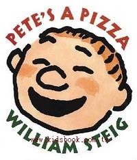 PETE,S A PIZZA(派弟是個大披薩)精裝書+CD